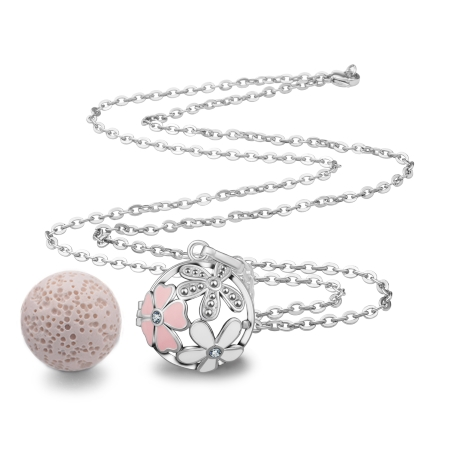Aromalava jewelry lava ball necklace image